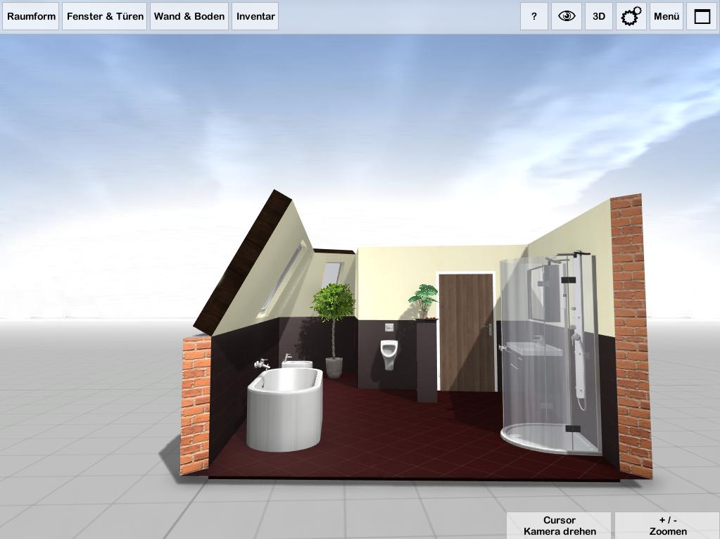 3d badplaner software
